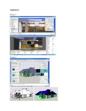 Computer programs: AutoCAD 2007, 3Ds Max 9, SketchUp5 11 puslapis